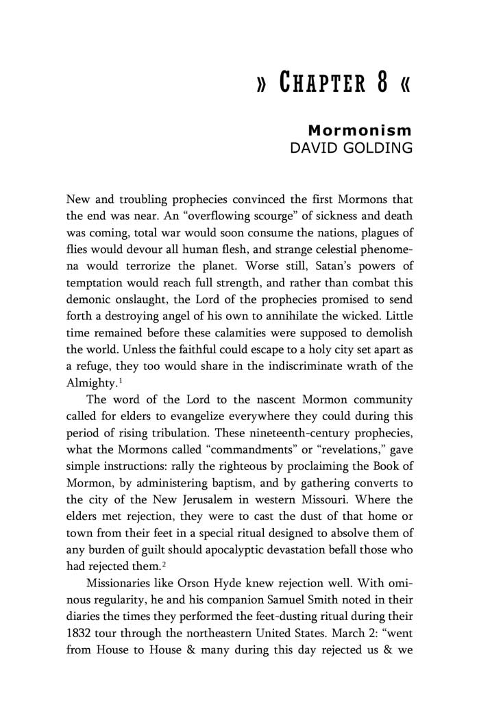 Mormonism by David Golding